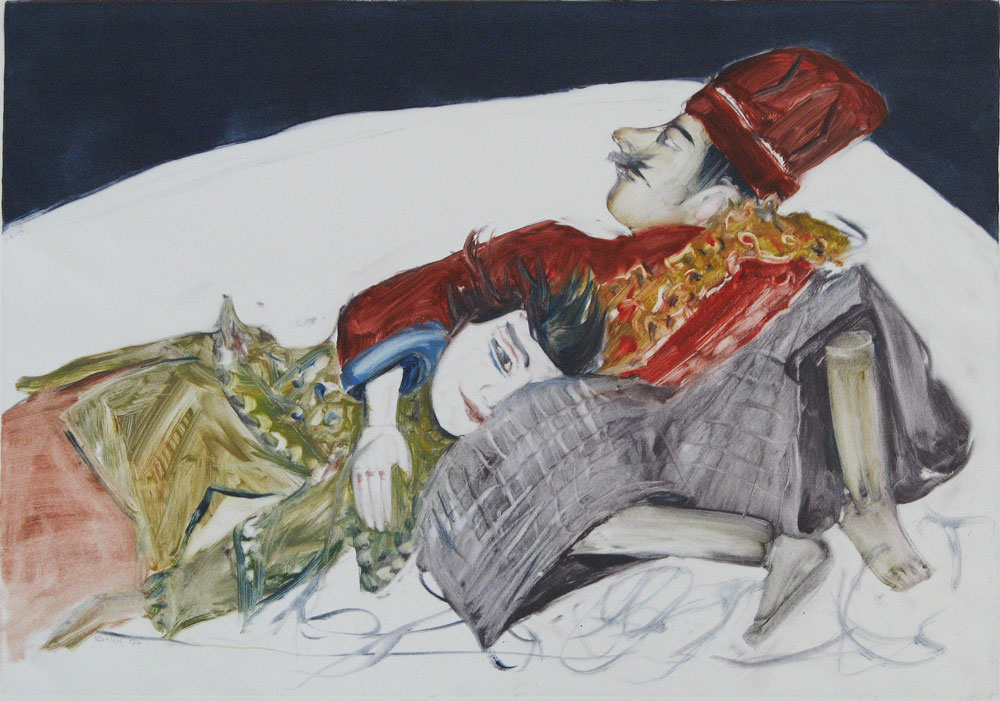 Reclining Puppets (2004)